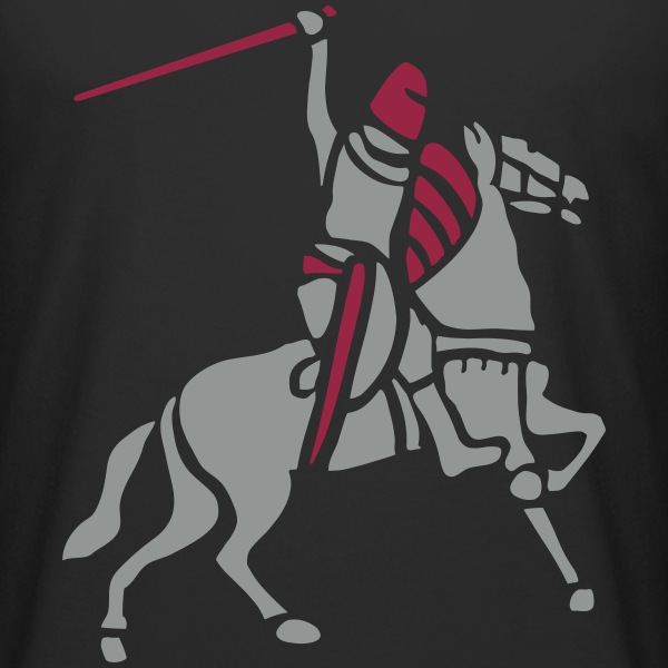 Knight On Horse by patjila Tee shirts - T-shirt long homme