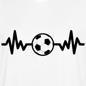 football soccer is life T-shirts - Mannen voetbal shirt