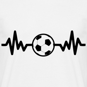 football soccer is life T-shirts - T-shirt herr