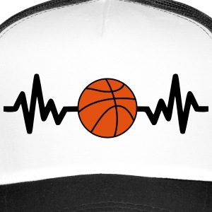 basket basketball is life Kasketter & huer - Trucker Cap