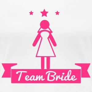 Team bride - hen party T-shirts - Vrouwen Premium T-shirt