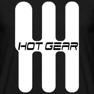 SimRacing /// Simracer /// hot gear Tee shirts - T-shirt Homme