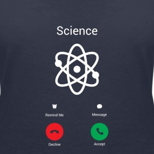 Science Gets! T-Shirts - Women's V-Neck T-Shirt