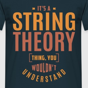 String Theory T-shirt - Men's T-Shirt
