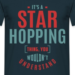 Star Hopping T-shirt - Men's T-Shirt