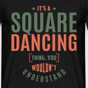 Square Dancing T-shirt - Men's T-Shirt