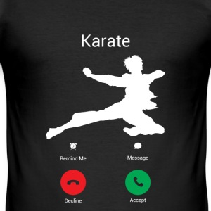 Karate Gets! T-Shirts - Men's Slim Fit T-Shirt