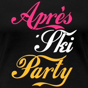 Apres Ski Party T-Shirts - Frauen Premium T-Shirt