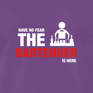 Have No Fear The Bartender Is Here - Premium-T-shirt herr