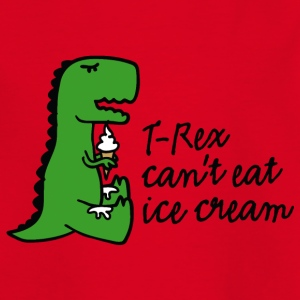 T-rex can't eat ice cream Tee shirts - T-shirt Enfant
