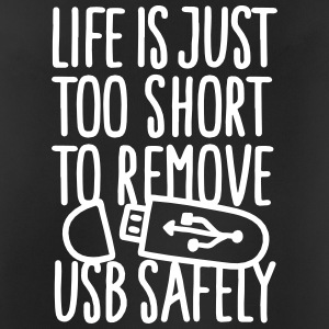 Life is just too short to remove USB safely Sports wear - Men's Breathable Tank Top