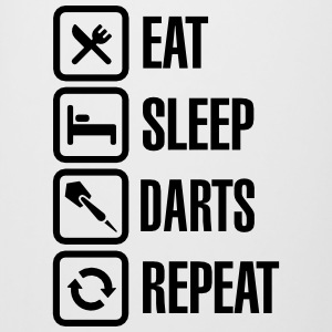 Eat - Sleep - Darts - Repeats Mugs & Drinkware - Beer Mug