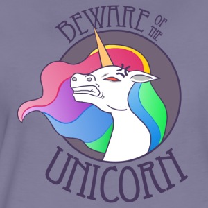 Beware of the Unicorn - Frauen Premium T-Shirt