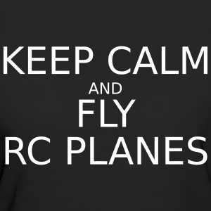 keep_calm_and_fly_rc_plan T-Shirts - Frauen Bio-T-Shirt
