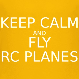 keep_calm_and_fly_rc_plan T-Shirts - Teenager Premium T-Shirt