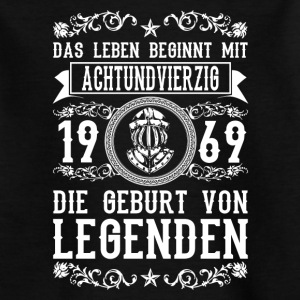 1969 - 48 Jahre - Legenden 2 - 2017 T-Shirts - Teenager T-Shirt