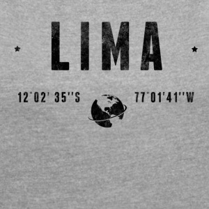 LIMA T-Shirts - Women's T-shirt with rolled up sleeves