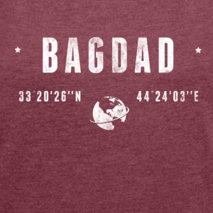 BAGDAD T-Shirts - Women's T-shirt with rolled up sleeves