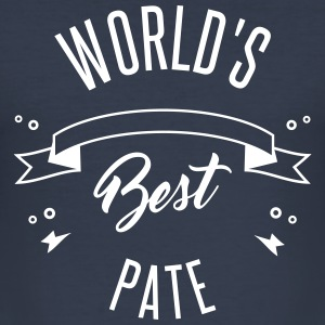 WORLD'S BEST PATE - Männer Slim Fit T-Shirt