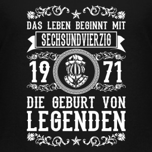 1971 - 46 Jahre - Legenden 2 - 2017 T-Shirts - Teenager Premium T-Shirt