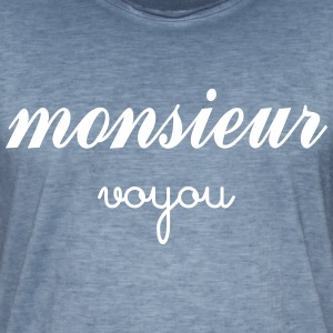 Monsieur Voyou Tee shirts - T-shirt vintage Homme