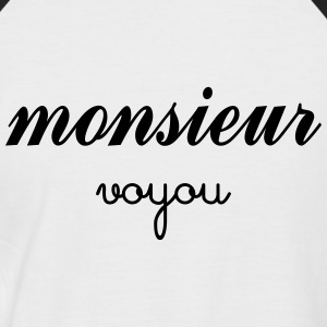 Monsieur Voyou Tee shirts - T-shirt baseball manches courtes Homme