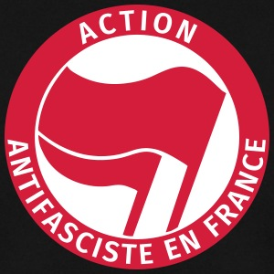 Action Antifasciste en France Sweat-shirts - Sweat-shirt Homme