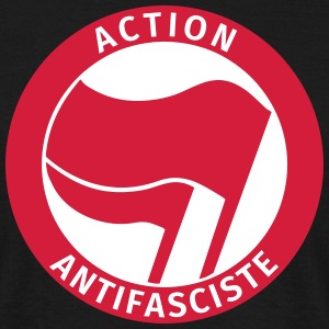 Action Antifasciste T-Shirts - Männer T-Shirt