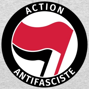 Action Antifasciste Sweat-shirts - Sweat-shirt à capuche unisexe