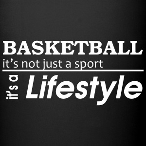 Basketball is a lifestyle Tasse - Tasse einfarbig