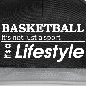 Basketball is a lifestyle Cap - Snapback Cap