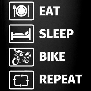 EAT SLEEP BIKE REPEAT Tazze & Accessori - Tazza monocolore