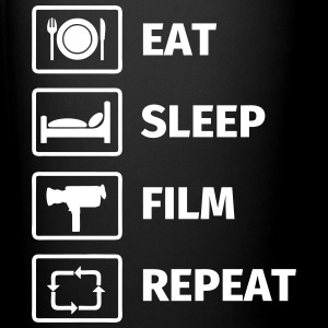 EAT SLEEP FILM REPEAT Mokken & toebehoor - Mok uni