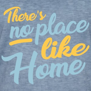 there´s no place like home T-Shirts - Männer Vintage T-Shirt