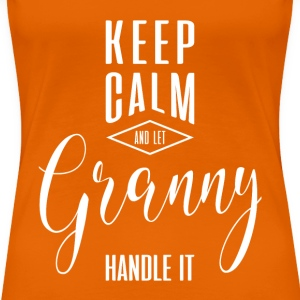 Keep Calm Granny T-shirt - Women's Premium T-Shirt