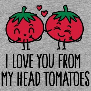 I love you from my head tomatoes T-Shirts - Teenager Premium T-Shirt