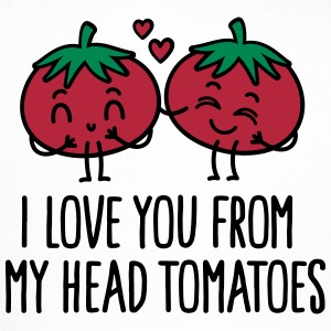 I love you from my head tomatoes Casquettes et bonnets - Trucker Cap