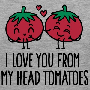 I love you from my head tomatoes Long Sleeve Shirts - Women's Premium Longsleeve Shirt