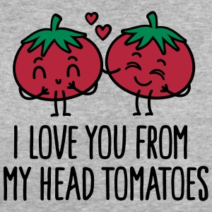 I love you from my head tomatoes T-Shirts - Women's Organic T-shirt