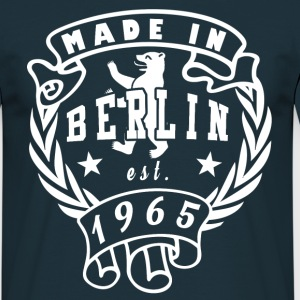 made in berlin 1965 - Männer T-Shirt