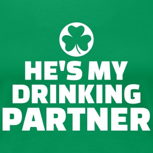 Drinking partner T-Shirts - Frauen Premium T-Shirt
