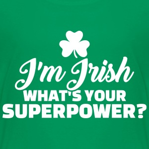 Irish superpower T-Shirts - Kinder Premium T-Shirt