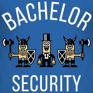 Bachelor Security Vikings (Stag Party / NEG) T-Shirts - Men's Slim Fit T-Shirt