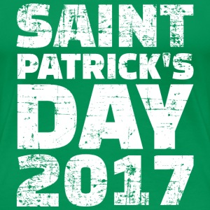 Saint Patricks day 2017 T-Shirts - Frauen Premium T-Shirt