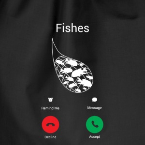 Call fish! Bags & Backpacks - Drawstring Bag
