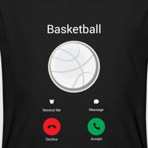 Basketball is calling me! T-Shirts - Men's Organic T-shirt