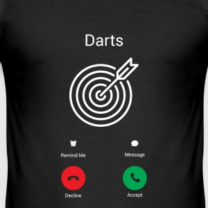 Darts Gets! T-Shirts - Men's Slim Fit T-Shirt