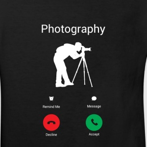 Photography is calling me! Shirts - Kids' Organic T-shirt