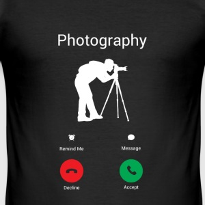 Fotografie is belt me! T-shirts - slim fit T-shirt