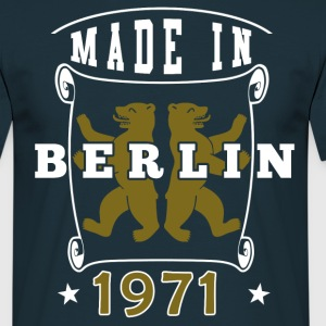 made in berlin 1971 - Männer T-Shirt